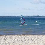 Surfer an der Ostsee